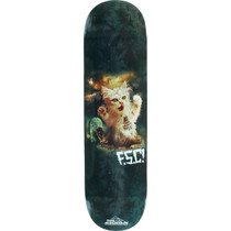 FSanta Cruz Fluffy Satanic Cat Deck-8.25