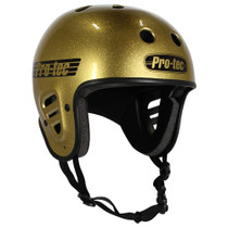 Protec Fullcut Gold Flake-S Helmet