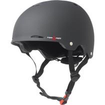 T8 Gotham Helmet L/Xl-Black Rubber Cpsc/Astm