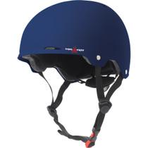T8 Gotham Helmet L/Xl-Blue Matte Rubber Cpsc/Astm