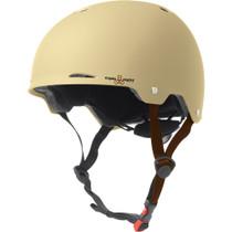 T8 Gotham Helmet L/Xl-Cream Matte Rubber Cpsc/Astm
