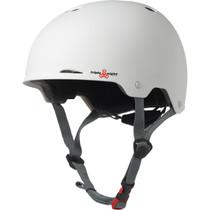T8 Gotham Helmet S/M-White Matte Rubber Cpsc/Astm