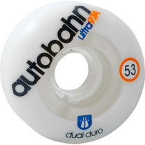 Autobahn Dual Durometer Ultra 53Mm 97A Wht/Clr
