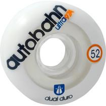 Autobahn Dual Durometer Ultra 52Mm 97A Wht/Clr