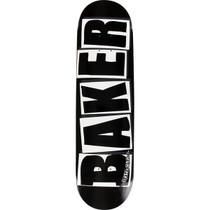 Baker Brand Logo Deck-8.25 Blk/Wht