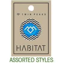 Habitat Twin Peaks Button 1Pc