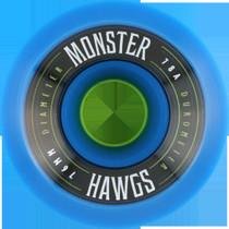 Hawgs Monster 78A 76Mm Blue