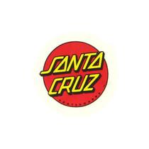 "Santa Cruz Classic Dot 1"" Decal"