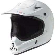 T8 Invader Full Face Helmet Xs/S-White Cpsc/Atsm