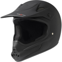 T8 Invader Full Face Helmet S/M-Black Cpsc/Atsm