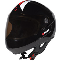 T8 Racer Downhill Helmet L/Xl-Black Cpsc/Atsm