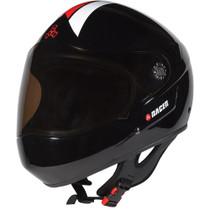 T8 Racer Ii Helmet Xs-Black Gloss Cpsc/Atsm