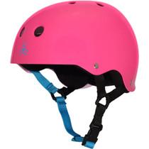 T8 Helmet Neon Gloss Fuscha M