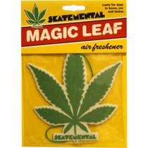 Skate Mental Magic Leaf Green Air Freshener