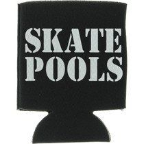 Lowcard Skate Pools Coozie Blk/Wht