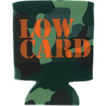 Lowcard Stacked Camo Coozie Grn Camo
