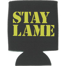 Lowcard Stay Lame Coozie Blk/Yel