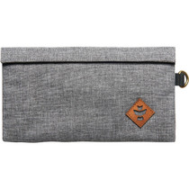 Revelry Confidant Money Bag .5L Crosshatch Grey/Bk