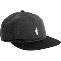 Girl Og Micro Hat Adj-Grey/Blk