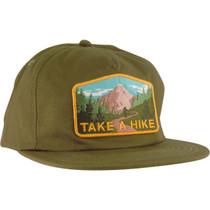 Skate Mental Take A Hike Hat Adj-Forest Green
