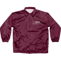 Choc Inaugural Coach Jacket Xl-Burgundy