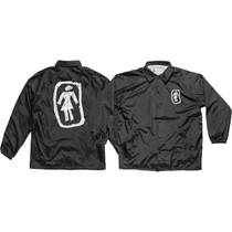 Girl Sketchy Og Coach Jacket Xl-Black
