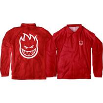 Sf Bighead Double Jacket Yth L-Red/Wht