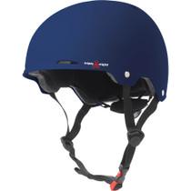T8 Gotham Helmet S/M-Blue Matte Rubber Cpsc/Astm