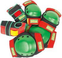 Tsg Basic Pad Set S-Rasta Knee,Elbow,Wrist
