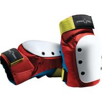 Protec Street Knee S-Retro(Red/Blue/Yel)