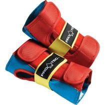 Protec Street Wrist Yth-Retro(Red/Blue/Yel)