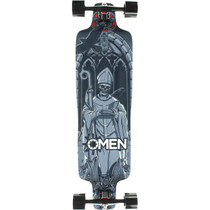 Omen Dreadknot Complete-9.75X35.5 Blk/Grey