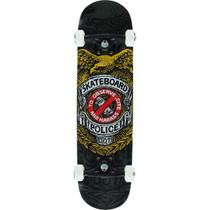 Pwl/P Skateboard Police Complete-8.0 Blk/Gold