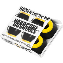 Bones Hardcore 4Pc Med Black/Yellow Bushings