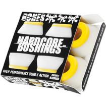 Bones Hardcore 4Pc Med White/Yellow Bushings