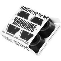 Bones Hardcore 4Pc Hard Black/Black Bushings