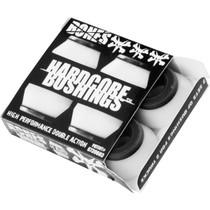 Bones Hardcore 4Pc Hard White/Black Bushings
