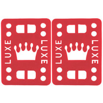 "Luxe Riser Pad Set 1/2"" Red"