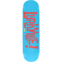 Lurkville Logo Deck-8.0 Keaveny Colorway Blu/Pink