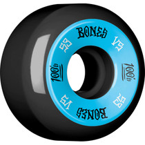 Bones 100'S #1 V5 53Mm Black/Blue Ppp