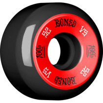 Bones 100'S #1 V5 52Mm Black/Red Ppp
