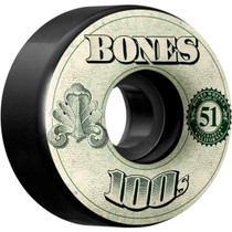 Bones 100'S Og #11 V4 51Mm Black W/Money Ppp