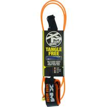 Xm Tangle Free Ds Regular Leash 7' Orange