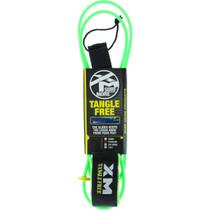 Xm Tangle Free Ds Regular Leash 8' Green