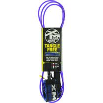 Xm Tangle Free Ds Regular Leash 8' Purple