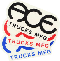 "Ace Standard Logo 3"" Sticker Assorted 1Pc"