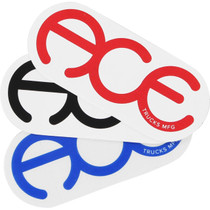 "Ace Rings 3"" Sticker Assorted 1Pc"