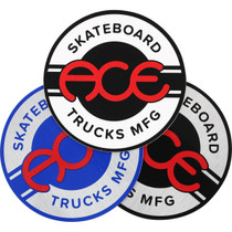 "Ace Round Logo 4"" Sticker Assorted 1Pc"