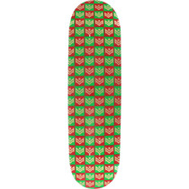 Ml Deck 181/K-15 -8.5 Chevron Gift Wrap Grn/Rd Ppp
