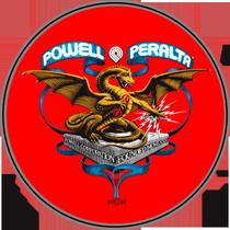 "Pwl/P Banner Dragon 4"" Decal Single"